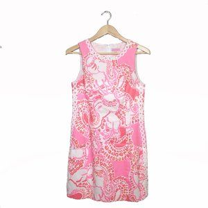 Lilly Pulitzer Trunk in Love Mila Shift Dress 6